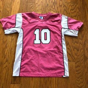 Wichita State Wildcats Pink #10 Womens Jersey